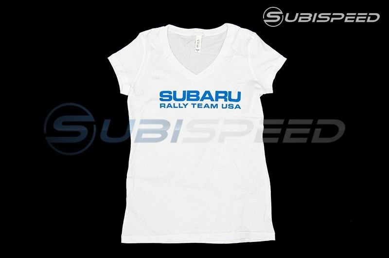 Subaru Ladies Short Sleeve V-Neck T-Shirt
