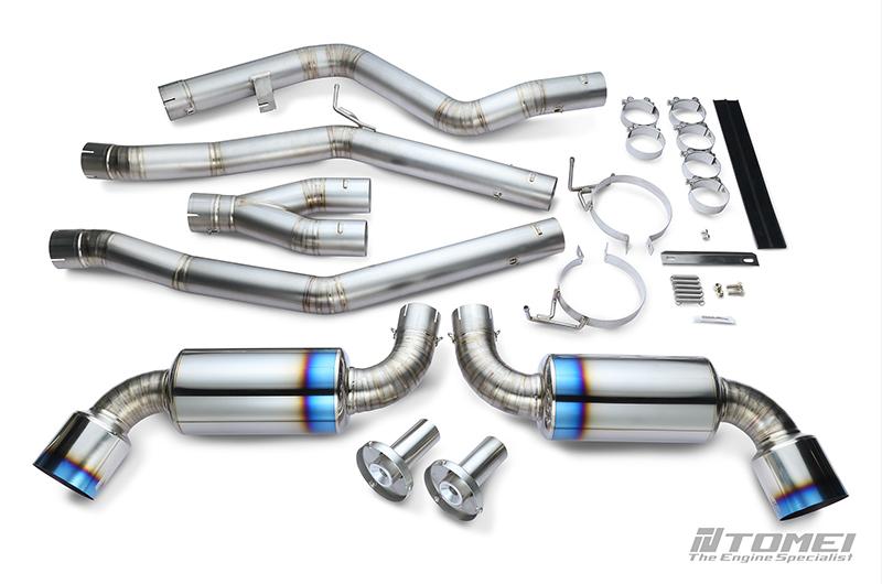 Tomei Dual Exit Full Titanium Expreme Ti Exhaust Muffler Kit Type-D