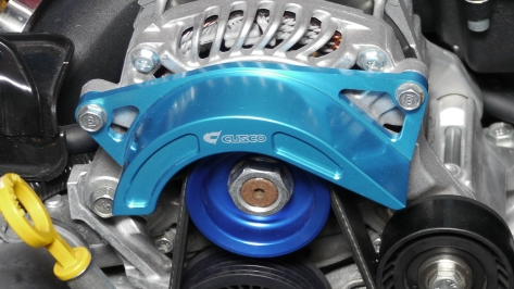 Cusco Aluminum Alternator Belt Cover - 2013+ FR-S / BRZ / 86