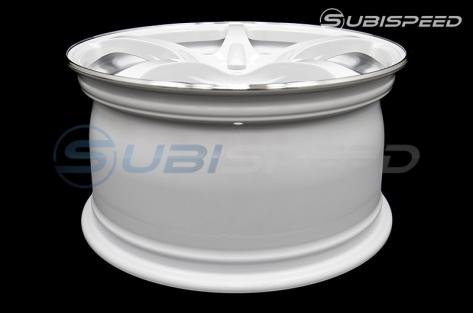 Rays G50 Dash White (Face 2) 18x9.5 +38 - 2015+ WRX / 2015+ STI