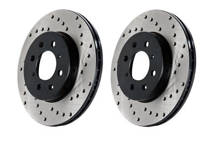 StopTech Rear Drilled Sport Brake Rotor - 2013+ FR-S / BRZ / 86