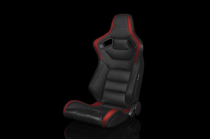 Braum Elite Series Racing Seat (Black & Red)