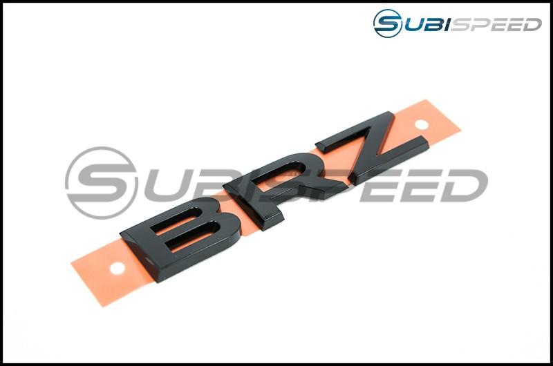 Subaru Hyperblue Series Black BRZ Trunk Emblem