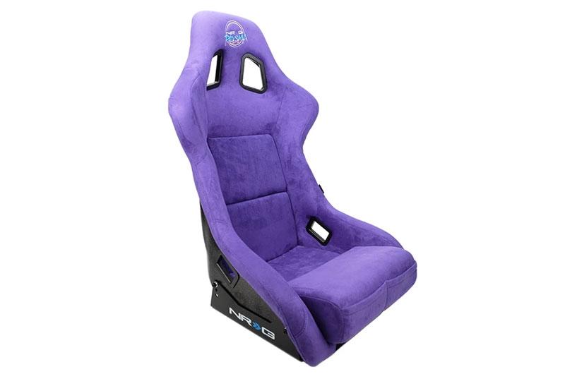 NRG Innovations FRP Prisma Edition Bucket Seat - Purple