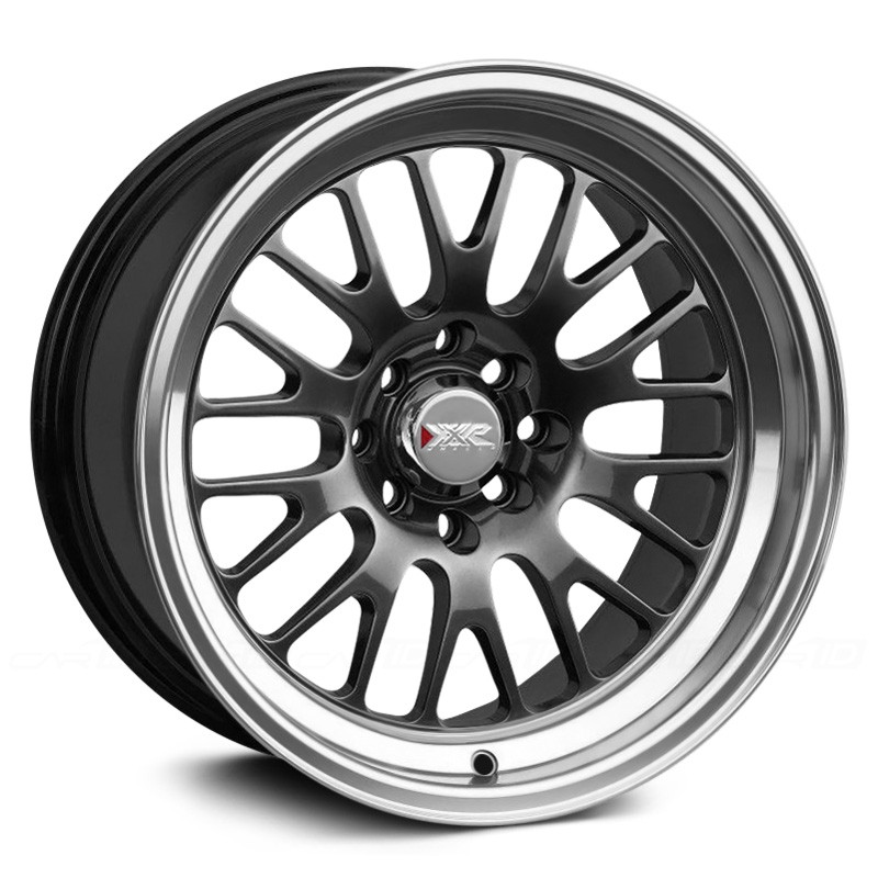 XXR 531 Wheels 18x9.5 +35mm (Chromium Black) - 2015+ WRX / 2015+ STI / 2013+ FR-S / BRZ / 2014+ Forester