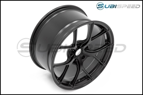 Titan 7 T-S5 Machine Black 17x9 +37 - 2013+ FR-S / BRZ / 86 / 2014+ Forester