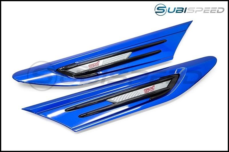 Subaru JDM STI Paint Matched Fender Garnish - 17+ BRZ