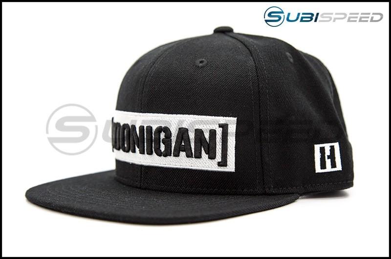 HOONIGAN Censor Bar Snapback Hat Black / White