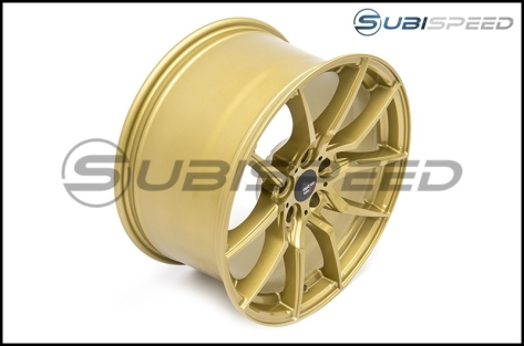 Option Lab R716 Wheels 18x9.5 +35 Top Secret Gold Wheels - 2013+ FR-S / BRZ / 86 / 2014+ Forester