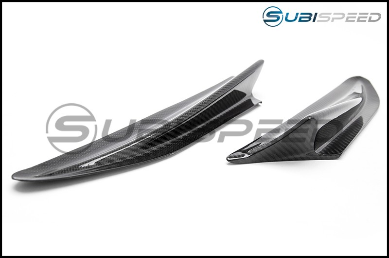 GCS S-line Fender Aero Fin Gloss Carbon Fiber