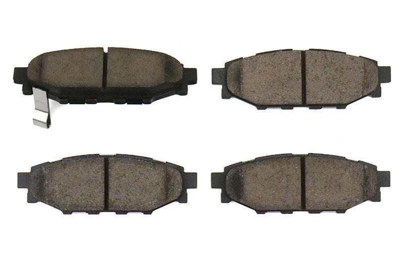 Sparta Evolution SPP 1.0 Rear Brake Pad Set
