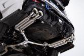 CP-E Austenite Axle Back Dual Mufflers - 2015+ WRX / 2015+ STI