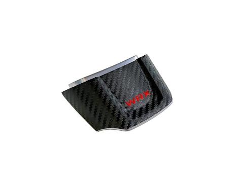 Sticker Fab 3D Carbon V2 WRX Full Steering Wheel Lower Overlay
