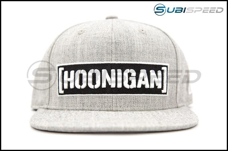 HOONIGAN Censor Bar Snapback Hat Grey / Black / White