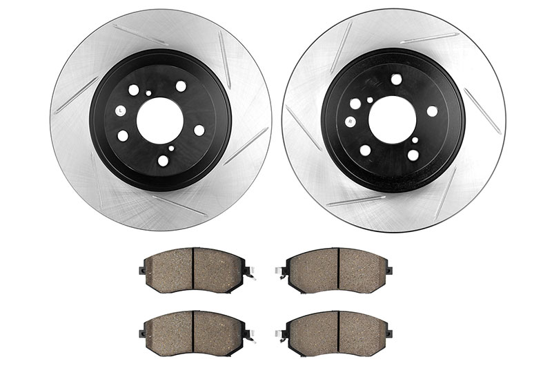 Stoptech Street Axle Pack Slotted Front