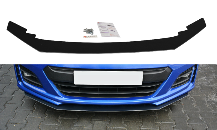 Maxton Design V2 Black Facelifted Racing Splitter