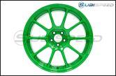 Volk ZE40 Takata Green 18x9.5 +43 - 2013+ FR-S / BRZ / 86 / 2014+ Forester