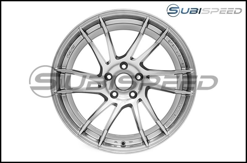 Gram Lights 57XTC 18x9.5 +38 Shining Silver - 2013+ FR-S / BRZ / 86 / 2014+ Forester
