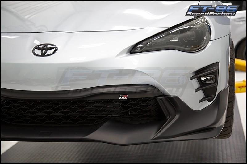 Toyota GR Logo JDM Front Bumper Emblem - 13+ FT86