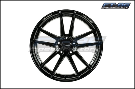 Weds RN-55M Gloss Black 18x9 +32 (Front) 18x10 +36 (Rear) - 2020+ A90 Supra