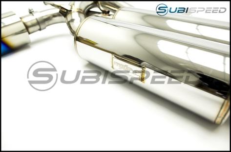 MXP Dual Exit Catback Exhaust TI Tips - 2013+ FR-S / BRZ