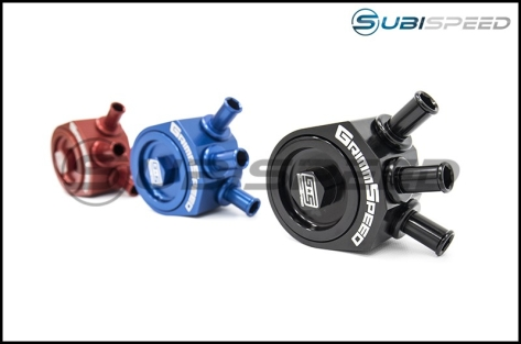 GrimmSpeed Air/Oil Separator (Various Colors) - 2015+ STI