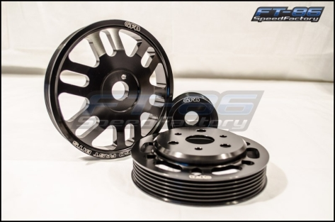 Go Fast Bits 3pc Lightweight Pulley Kit - 2013+ FR-S / BRZ / 86