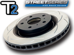DBA Slotted T2 Rotors - 2013+ FR-S / BRZ