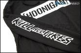 HOONIGAN Censor Bar Kill All Tires Pullover Hoodie Black / White - Universal