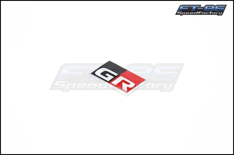 Toyota GR Logo JDM Fender Emblem