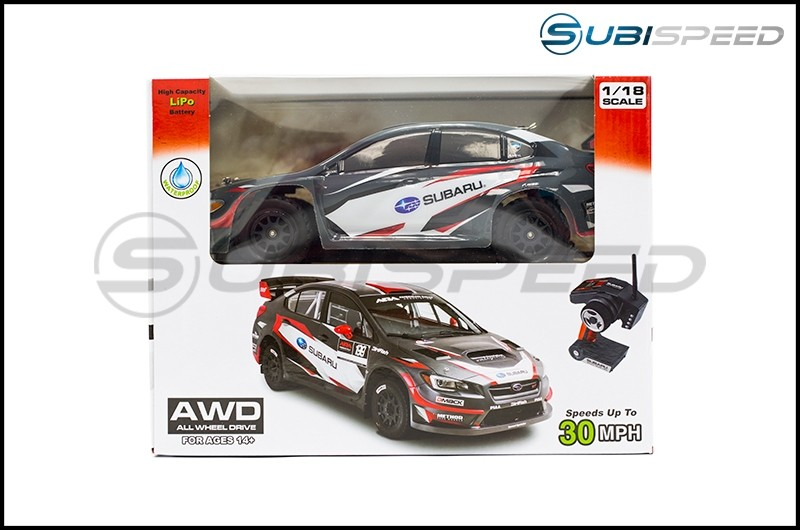 Official Subaru Rally Team Radio Controlled Car-Red