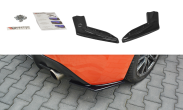 Maxton Design Gloss Black Rear Side Splitters V1 - 2017+ 86