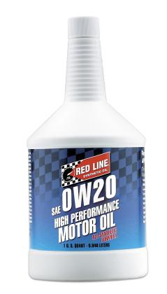 Red Line 0W20 Synthetic Oil (1 Quart)