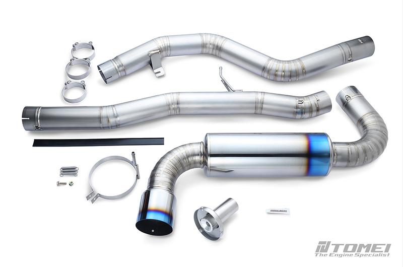 Tomei Single Exit Full Titanium Expreme Ti Exhaust Muffler Kit Type-R