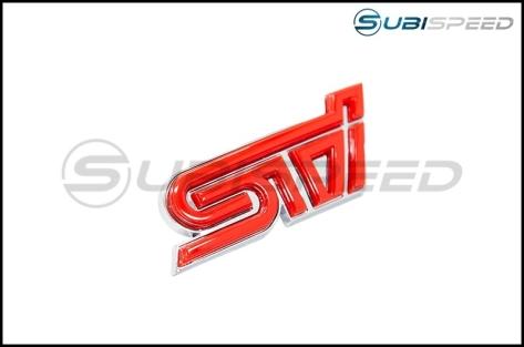 GCS STI Grille Emblem - 2015+ STI