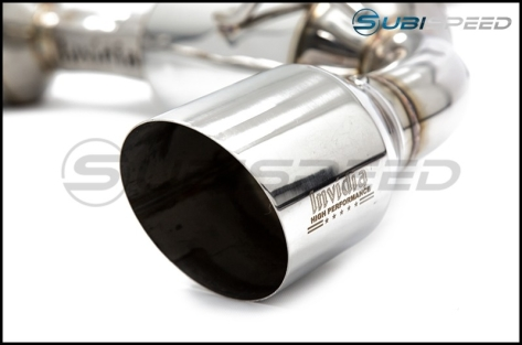 Invidia N2 Cat Back Exhaust Stainless Steel Tips