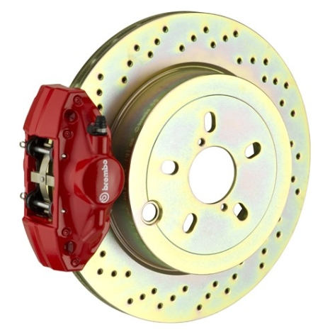 Brembo Rear 2 Piston Slotted or Drilled Brake Kit