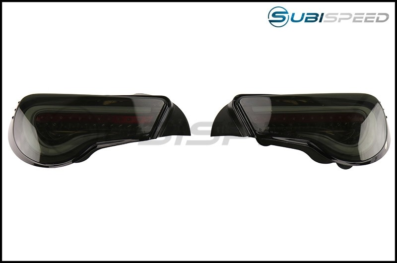 Valenti Jewel LED Tail Light (Light Smoke Lens, Black Chrome Inner Reflector)