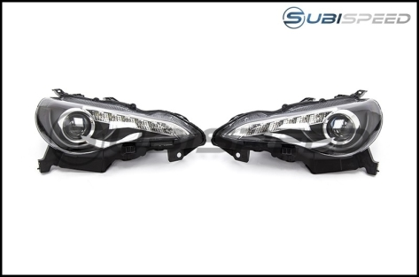 Winjet JDM Headlights (Black)
