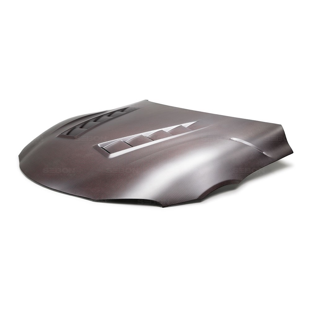 Seibon TS-Style Red Dry Carbon Hood