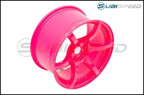 Rays Gram Lights 57C6 Luminous Pink 18X9.5 +40 - 2013+ FR-S / BRZ / 86 / 2014+ Forester