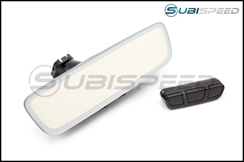 Frameless Rear View Mirror (Auto Dimming) with Universal Garage Remote Control (ARQ™) - 2015+ WRX / 2015+ STI / 2013+ FR-S / BRZ / 86 / 2014+ Forester