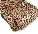 NRG Innovations FRP Bucket Seat Prisma Savage Edition - Brown Cheetah (Large) - Universal