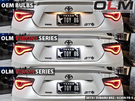 OLM LED License Plate Bulbs - 15+ WRX / STI / 13+ BRZ / 14+ Forester / 13+ Crosstrek / 17+ Impreza / 2013+ FR-S / BRZ