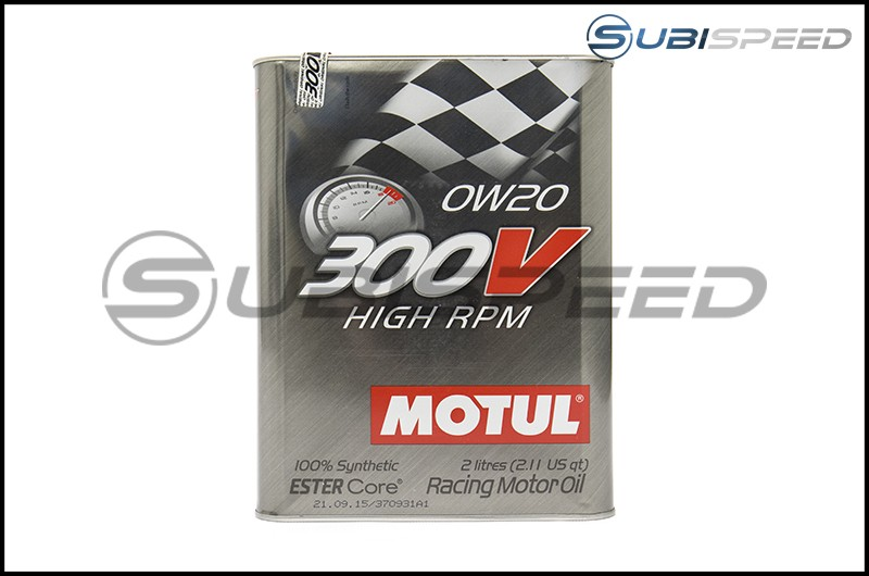Motul 300V HIGH RPM 0W20 Racing Oil (2L)