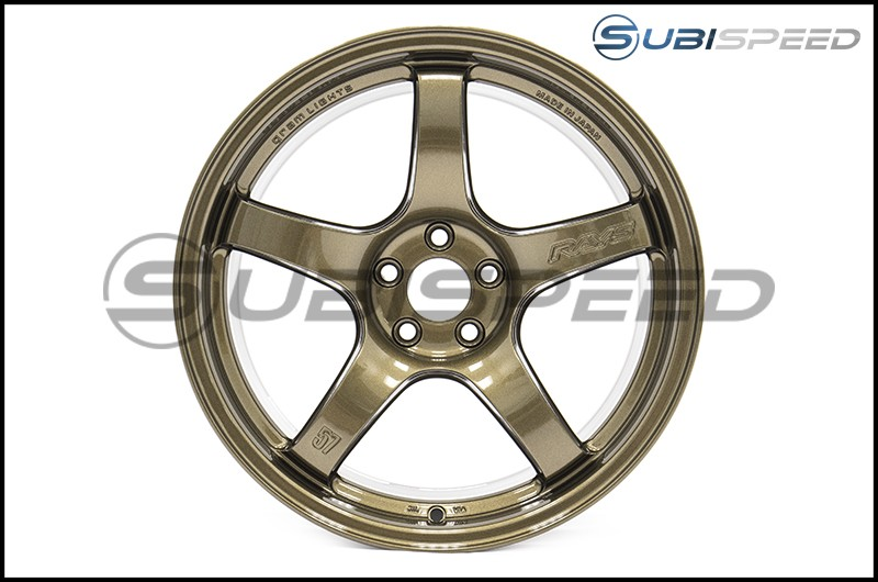 Rays Gram Lights 57CR Almite Gold 17x9 +38