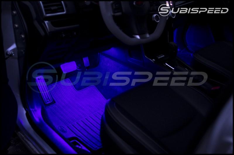 GCS RGB Interior Footwell Lighting Kit (Front & Rear W/ Bluetooth)