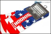 HOONIGAN Stars & Stripes Red, White, and Blue Crew Socks - Universal