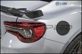 3D Carbon Fiber Vinyl Fuel Door Overlay - 2013-2020 FR-S / BRZ / 86