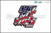 HOONIGAN Kill All Tires Sticker, Red, White and Blue - Universal